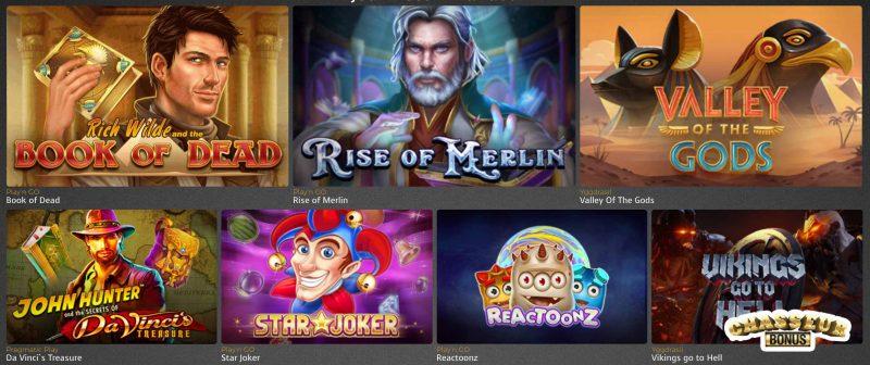casino extra jeux