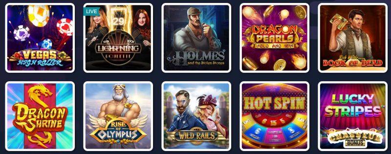 lucky8 jeux