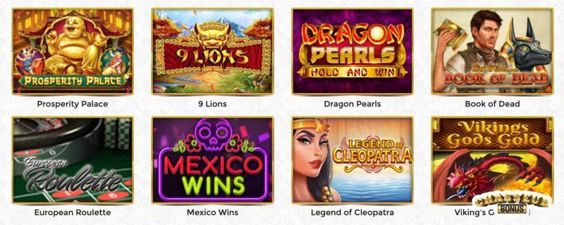 unique casino jeux